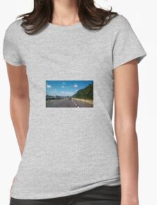Beachbound Road Womens Fitted T-Shirt
