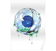 Moon Diamond Poster