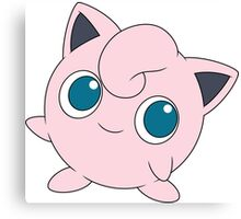Jigglypuff - Pokemon Canvas Print