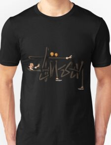 STUSSY - BOMBERMAN GRAFITI Art #MP Unisex T-Shirt