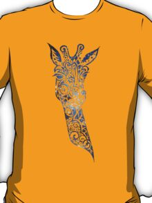 Blue Space Giraffe T-Shirt