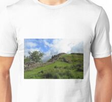 The Pennine Way Joins Hadrian's Wall Unisex T-Shirt