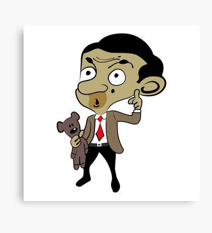 Mr. Bean Canvas Print
