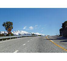 Road Trip Along Lake Wakitipu  Photographic Print
