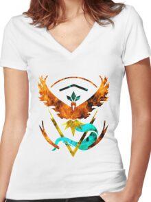 Valinstic Women's Fitted V-Neck T-Shirt