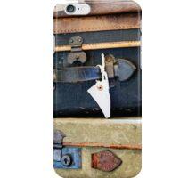 Vintage Style Luggage iPhone Case/Skin