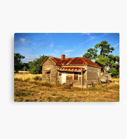 Weathered in Age Canvas Print