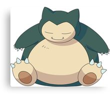 Snorlax - Pokemon Canvas Print