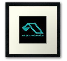 anjunabeats sticker Framed Print