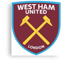 West Ham United Badge 2016 Canvas Print