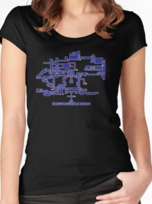 SOTN Map Women's Fitted Scoop T-Shirt