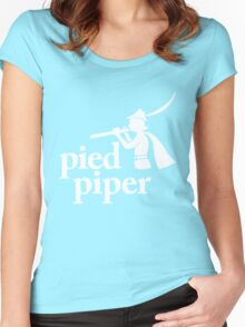 pied piper shirt Women's Fitted Scoop T-Shirt