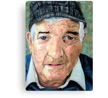 Elderly Man Canvas Print