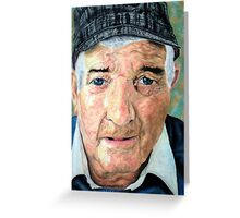 Elderly Man Greeting Card