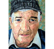 Elderly Man Photographic Print
