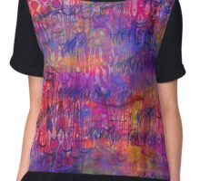 Colour Blast  Chiffon Top