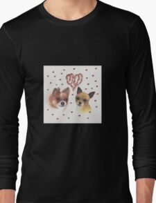 Chihuahua love Long Sleeve T-Shirt