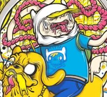 Adventure Time Zombie Sticker