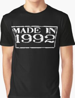 Made in 1992 Graphic T-Shirt