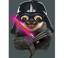 DARTH SLOTH Photographic Print