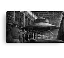 German flying saucer WW2 Canvas Print