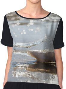 Message in a Bottle Chiffon Top