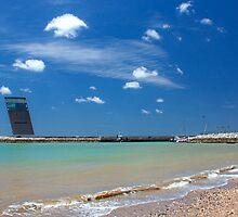 Algés beach. by terezadelpilar~ art & architecture