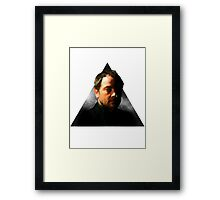 Hipster Crowley Framed Print
