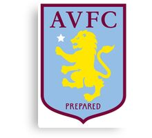 Aston Villa Badge 2016 Canvas Print