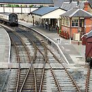 Railway station of Llangollen (Wales) by Arie Koene