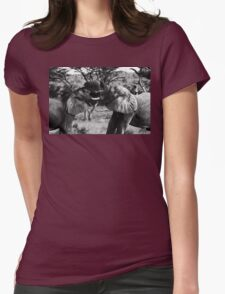 Heavyweight Fight Womens Fitted T-Shirt