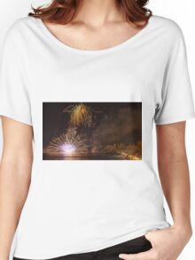 Fireworks at the Fiesta del Carmen 2 Women's Relaxed Fit T-Shirt