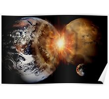 Planetary Collision  Poster