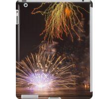 Fireworks at the Fiesta del Carmen 2 iPad Case/Skin
