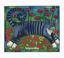 Striped Cat of Stripey Joy Kids Tee