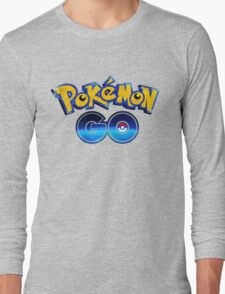 Old Pokemon new GO! Long Sleeve T-Shirt