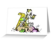 Tiger Student Greeting Card