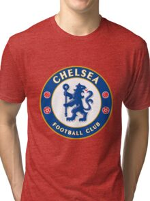 Chelsea FC Badge 2016 Tri-blend T-Shirt