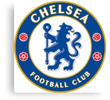 Chelsea FC Badge 2016 Canvas Print