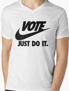 Vote Just Do It Mens V-Neck T-Shirt