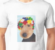 Welsh Terrier in a Swimming cap Unisex T-Shirt