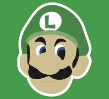 Luigi's Death Stare Kids Clothes