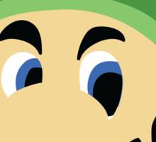 Luigi's Death Stare Sticker