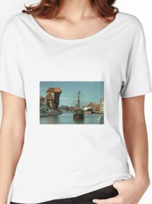 Gdansk Galleon  Women's Relaxed Fit T-Shirt