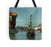 Gdansk Galleon  Tote Bag