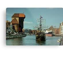 Gdansk Galleon  Metal Print