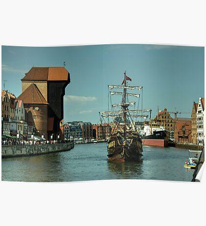 Gdansk Galleon  Poster