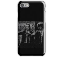 Pulp Fiction Quotes iPhone Case/Skin