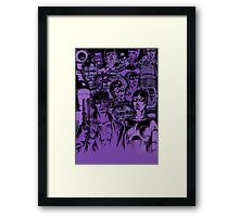 Movie Robot Framed Print
