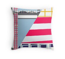 Structural Impact Throw Pillow